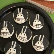 Football Player Cookies + Football Party Prep Ideas