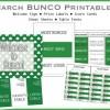 Shamrock BUNCO Printable Pack