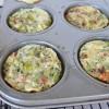 Broccoli & Sun Dried Tomato Egg Cups