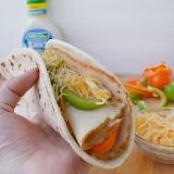 Summertime Flatbread Sandwiches with Hidden Valley and Fresh Veggies