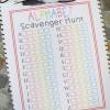 Alphabet Scavenger Hunt - Free Printable