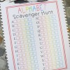 Alphabet Scavenger Hunt - Free Printable