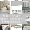 My Favorite Tufted King Size Headboards for Under $300