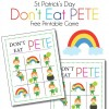 St. Patrick's Day Don't Eat Pete
