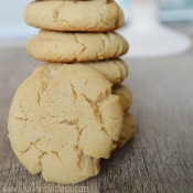 Fluffy Peanut Butter Cookie