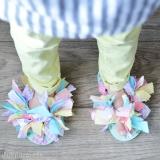DIY Tutorial - Scrap Fabric Flip Flops