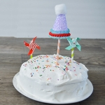 Party Hat Cake Topper - Tutorial