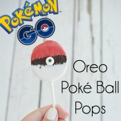 Oreo Poké Ball Pops - Tutorial