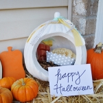 Porch Gift Drop - Fall and Halloween Ideas