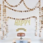 Easy Triangle Garland - Tutorial