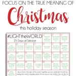 25 Days of Christlike Example - #LIGHTtheWORLD