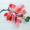 Christmas Lighted Fabric Garland Tutorial