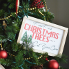 DIY Wooden Christmas Tree Sign