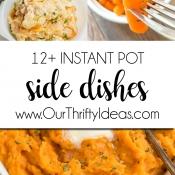 12+ Instant Pot Side Dish Recipes!