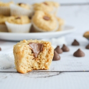 Protein Pancake Bites - Peanut Butter Cup