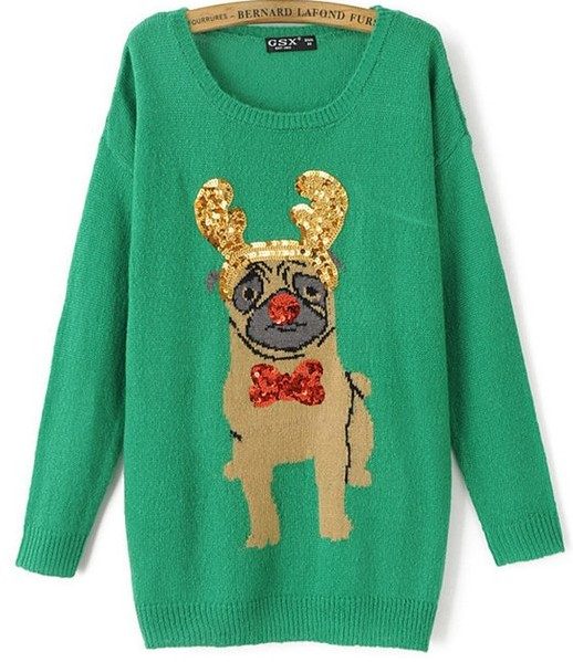 ugly pug sweaters the best women s ugly sweaters for christmas our thrifty 372