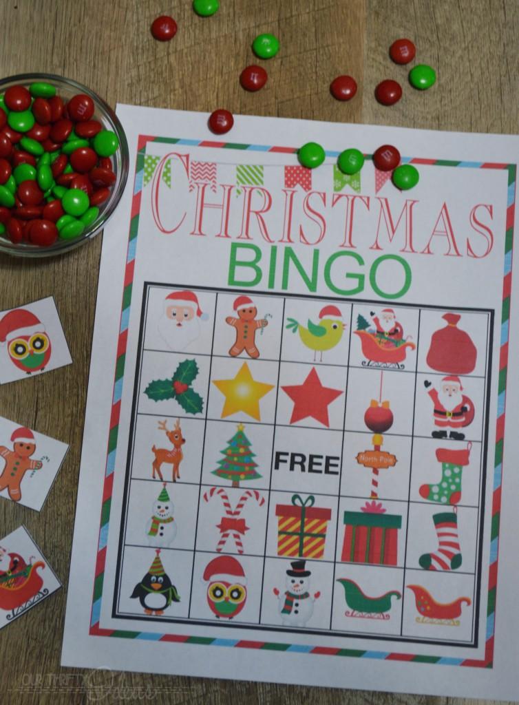 perfect BINGO game for Christmas