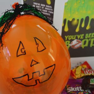 You've Been Boo'd – Pumpkin Balloon Filled With Candy
