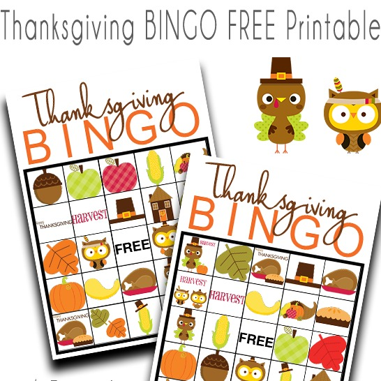 It's just a photo of Old Fashioned Free Printable Thanksgiving Bingo